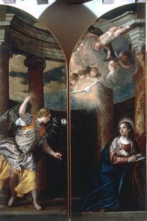 P.Veronese, Verkuendigung an Maria by AKG  Images