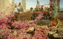 Die Rosen des Heliogabal / Alma Tadema by AKG  Images