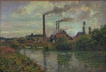 C.Pissarro, Die Fabrik in Pontoise by AKG  Images