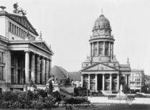 Berlin, Gendarmenmarkt /Foto um 1900 von AKG  Images