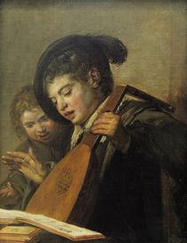 F.Hals, Die singenden Knaben by AKG  Images