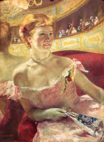 M.Cassatt, Dame in einer Loge by AKG  Images