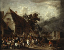 D.Teniers d.J., Grosse Dorfkirmes by AKG  Images
