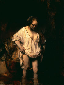 Rembrandt/ Badendes Maedchen/ 1654 by AKG  Images