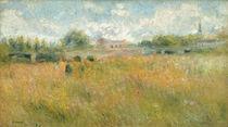 A.Renoir, Seinelandschaft bei Rueil von AKG  Images