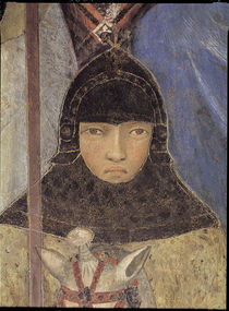 A.Lorenzetti, Berittener Soldat by AKG  Images