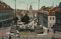 Gotha, Hauptmarkt / Postkarte von AKG  Images
