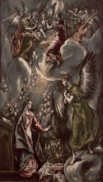El Greco, Mariae Verkuendigung by AKG  Images