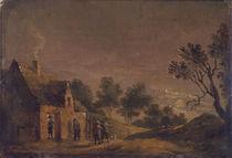 D.Teniers d.J., Mondscheinlandschaft von AKG  Images
