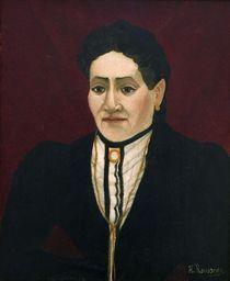 H.Rousseau, Portraet einer Frau by AKG  Images
