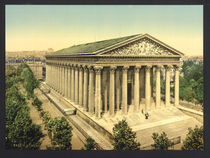 Paris, La Madeleine / Photochrom by AKG  Images