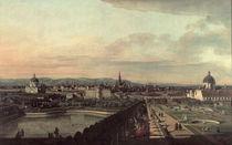 Wien vom Belvedere aus / Bellotto von AKG  Images