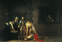 Caravaggio, Enthauptung Johannes d.T. by AKG  Images