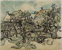 V.v.Gogh, Alter Weingarten mit Baeuerin von AKG  Images
