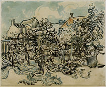 V.v.Gogh, Alter Weingarten mit Baeuerin by AKG  Images