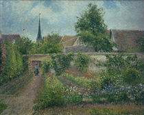 C.Pissarro, Gemuesegarten in Eragny by AKG  Images