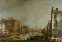 Venedig, Canal Grande / Canaletto von AKG  Images