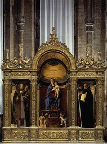 Giov.Bellini, Madonna mit Hlgen / Frari by AKG  Images