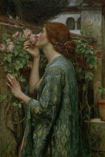 J.W.Waterhouse, The Soul of the Rose von AKG  Images