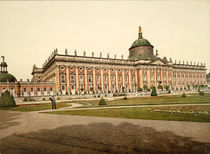 Potsdam, Neues Palais, Gartenseite /1898 by AKG  Images