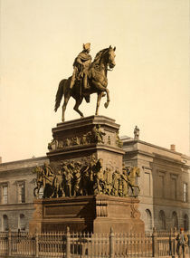 Berlin, Denkmal Friedrichs d.Gr. / Foto by AKG  Images