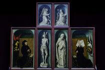R.van der Weyden, Heilige, Rolin u.a. by AKG  Images