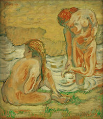 F.Marc, Zwei badende Frauen by AKG  Images