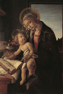 Botticelli, Madonna del Libro    t by AKG  Images