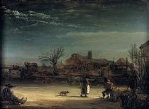 Rembrandt, Winterlandschaft/ 1646 by AKG  Images