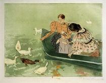 M.Cassatt, Fuetterung der Enten von AKG  Images