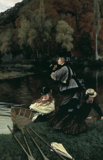 J.Tissot, Herbst an der Themse by AKG  Images
