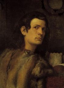 Giorgione/ Bildnis eines jungen Mannes von AKG  Images