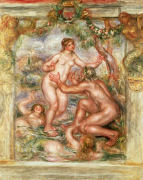 A.Renoir, Saone allant vers le Rhone von AKG  Images