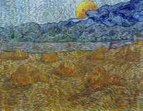 V.van Gogh, Abendlandschaft Mondaufgang von AKG  Images