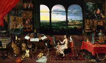 J.Brueghel d.J. u.v.Balen/Das Gehoer/1630 von AKG  Images