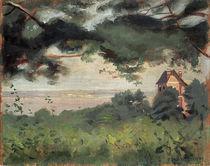 F.Vallotton, Honfleur, vue sur l'est. by AKG  Images