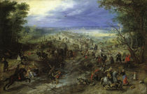 J.Brueghel d.Ae., Der Ueberfall by AKG  Images