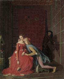 J.A.D.Ingres, Paolo u.Francesca von AKG  Images