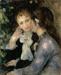 Renoir/ Vertrauliche Gespraeche/ 1878 von AKG  Images