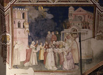 Giotto, Franziskus erweckt Knaben by AKG  Images