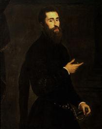 Tintoretto, Bildnis eines Edelmannes von AKG  Images