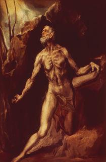 El Greco, Hl.Hieronymus von AKG  Images