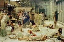 L.Alma Tadema, Die Frauen von Amphissa von AKG  Images
