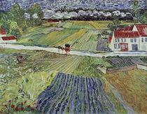 V.v.Gogh, Landschaft mit Pferdewagen von AKG  Images