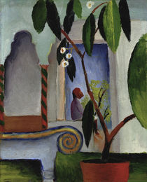 August Macke, Arabisches Cafe von AKG  Images