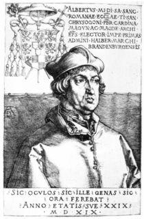 Albrecht von Brandenburg / Duerer by AKG  Images