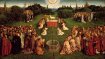 Agnus Dei / Jan v.Eyck,Genter Altar 1432 by AKG  Images