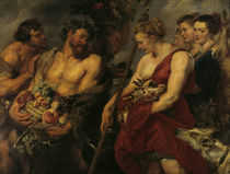 P.P.Rubens, Dianas Heimkehr von der Jagd von AKG  Images
