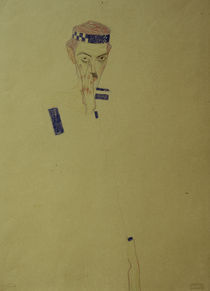 Egon Schiele, Selbstbildnis 1909 by AKG  Images