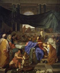 Ch.Le Brun, Gastmahl im Hause Pharisaeers by AKG  Images